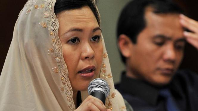 Zannuba Ariffah Chafsoh alias Yenny Wahid, putri mendiang Presiden keempat RI, Abdurrahman Wahid alias Gus Dur.