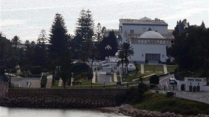 Istana Presiden Tunisia di Kota Carthage
