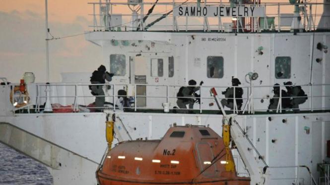 Pasukan khusus Korsel membekuk perompak Somalia