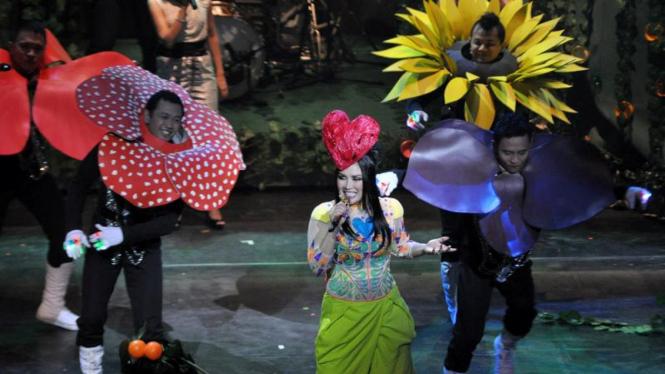 "Konser Titi DJ bertajuk ""Swara Sang Dewi"""