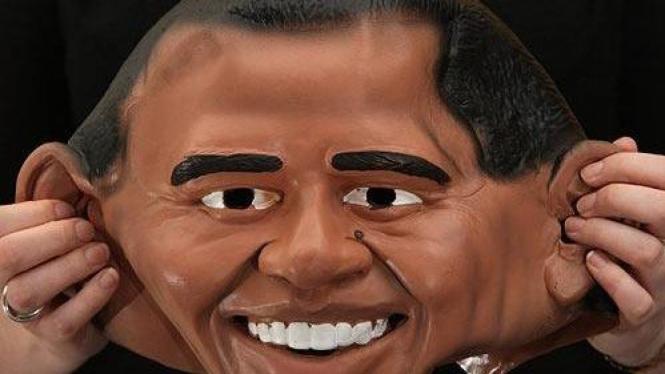 Topeng Barack Obama