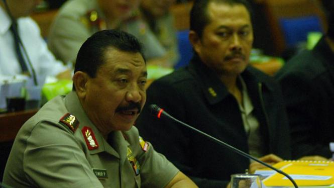 Kapolri Jenderal Polisi Timur Pradopo