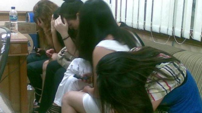 Penangkapan wanita China yang diduga PSK