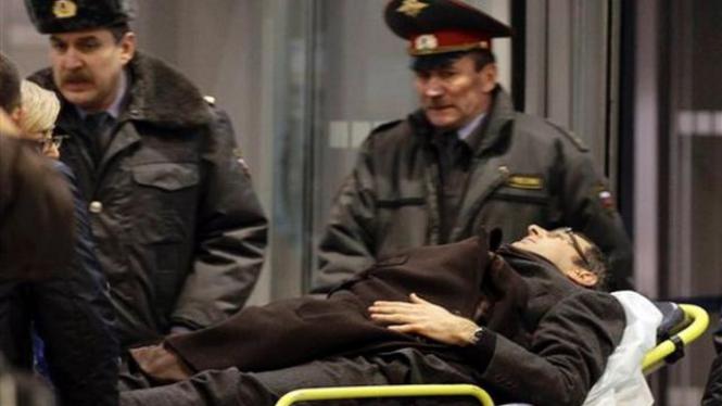 Korban luka akibat pengeboman di Bandara Domodedovo, Moskow