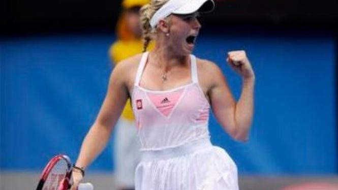 Caroline Wozniacki di Australia Open 2011