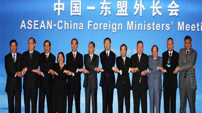 ASEAN-China Foreign Ministers' Meeting in Kunming, China