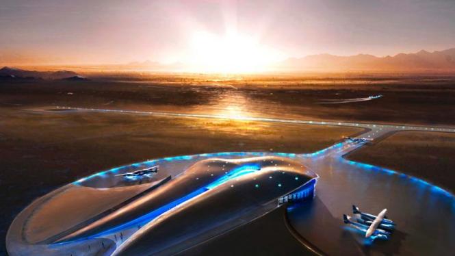 Desain Spaceport America