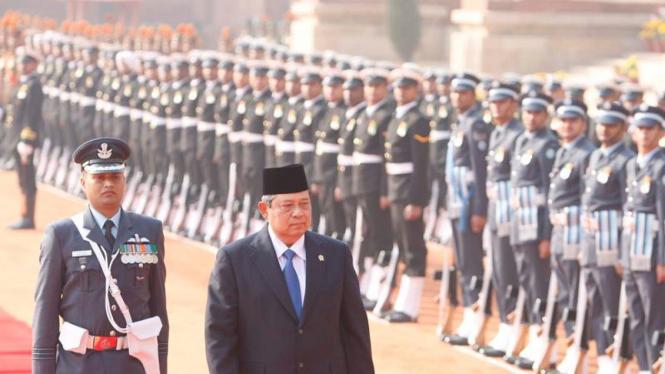 Kunjungan Presiden Susilo Bambang Yudhoyono ke India