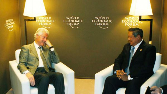 SBY Bertemu Bill Clinton