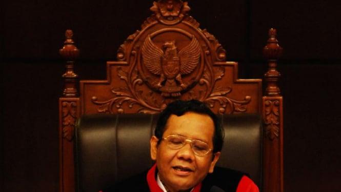 Ketua Mahkamah Konstitusi, Mahfud MD