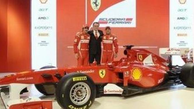 Mobil terbaru Ferrrari F1 F150