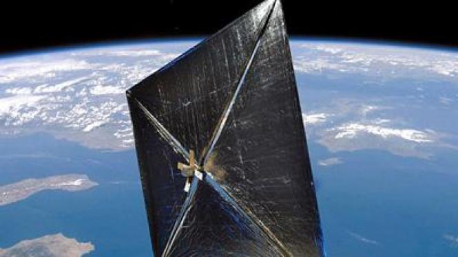 NanoSail-D, pesawat satelit NASA berbasis tenaga surya
