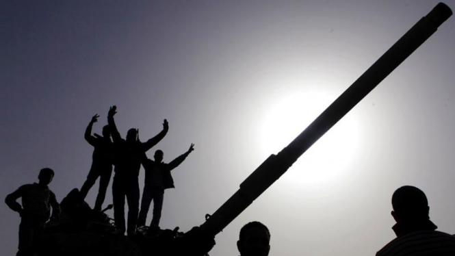 Aksi demonstrasi di Mesir.