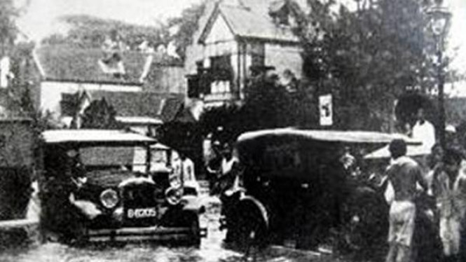Banjir di Jakarta di masa penjajahan