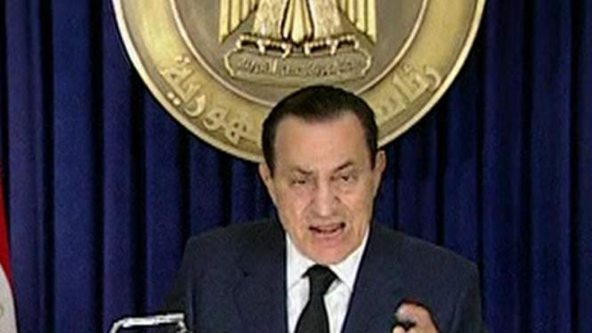 Presiden Mesir, Hosni Mubarak