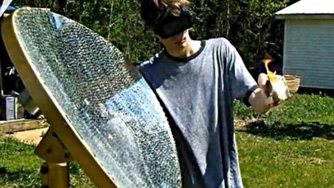Remaja AS dengan senjata 'Solar Death Ray'
