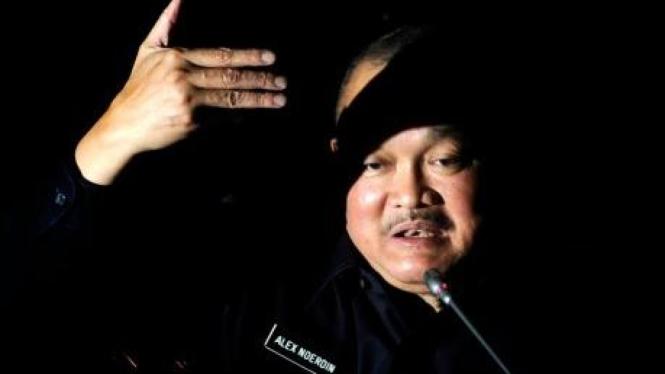 Gubernur Sumatra Selatan Alex Noerdin