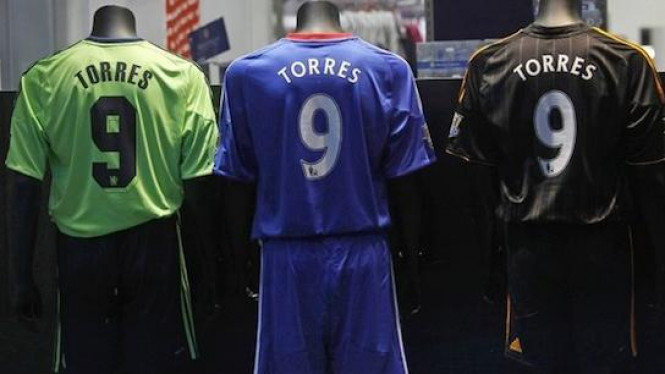 Jersey Fernando Torres di Chelsea
