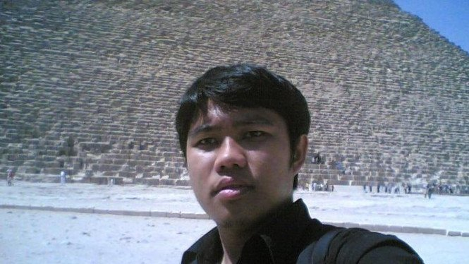 Ahsanul, mahasiswa Universitas Al-Azhar, (dokumen pribadi face book)