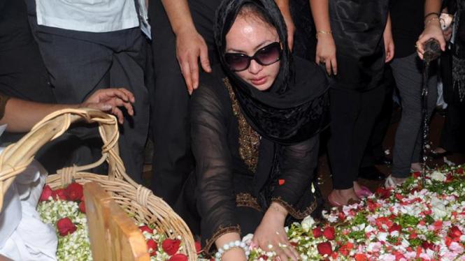 Pemakaman Adji Massaid