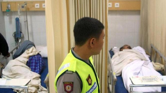 Jemaah Ahmadiyah luka parah setelah diserang di Cikeusik