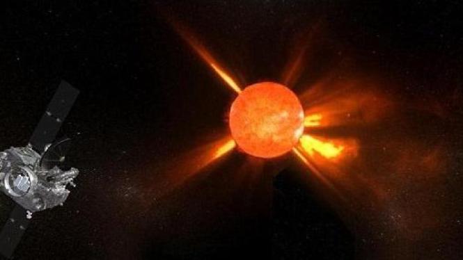 Gambaran lengkap Matahari 3D