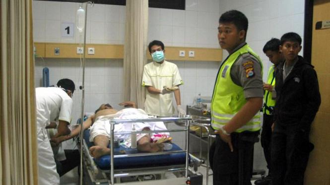 Jemaah Ahmadiyah yang menjadi korban dirawat di RS