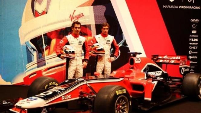 Mobil terbaru Virgin Racing MVR-02
