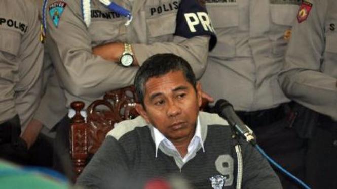 Terdakwa kasus penistaan agama di Temanggung, Antonius Richmond Bawengan