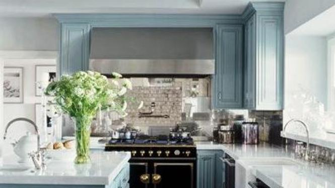 Dapur di rumah Jennifer Lopez