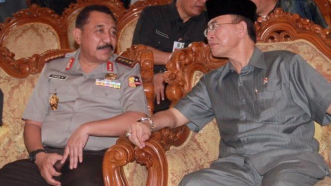 Kapolri Timur Pradopo dan Menteri Agama Suryadharma Ali