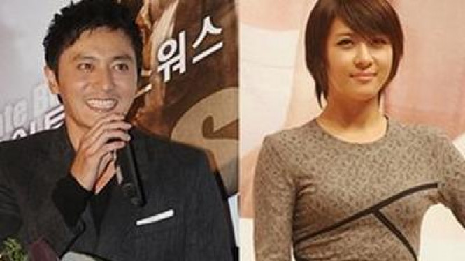 Jang Dong Gun & Ha Ji Won