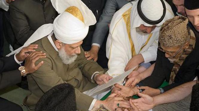 Bai'at Jamaah Ahmadiyah di Inggris, tahun 2009