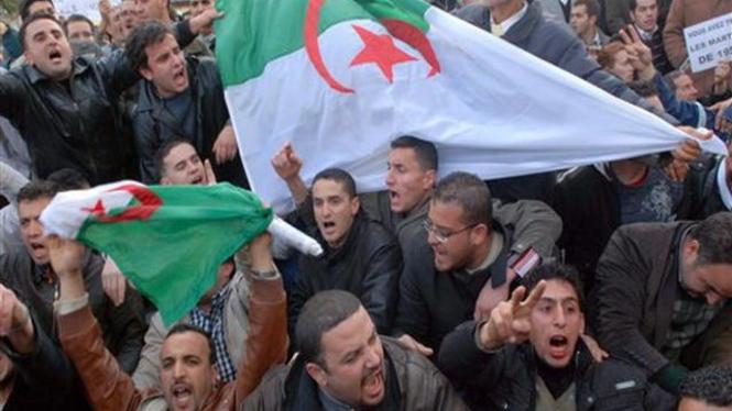 Demonstrasi di Ibukota Aljazair, Aljir