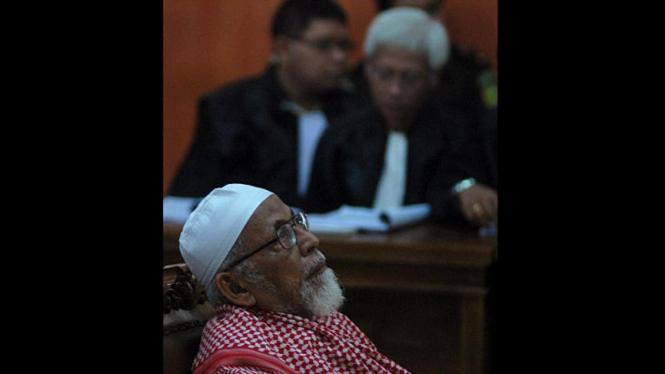 Abu Bakar Ba'asyir: Sidang Perdana