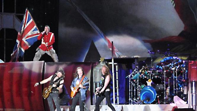 Konser Iron Maiden di Jakarta