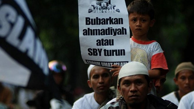 Aksi Demonstrasi Anti Ahmadiyah