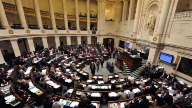 Parlemen Belgia bersidang