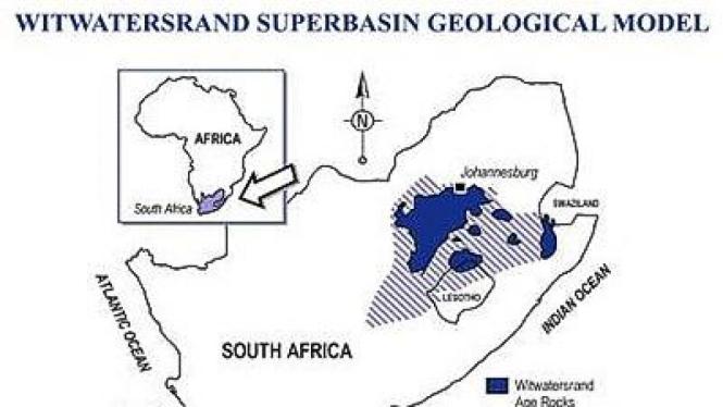 Perairan ditemukan jauh di bawah permukaan tanah di Afrika Selatan.