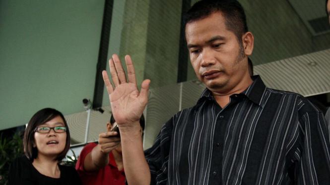 Jaksa Dwi Seno Wijanarko, tersangka pemerasan