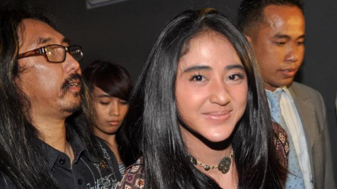 Dewi Persik penuhi panggilan Polda Metro Jaya