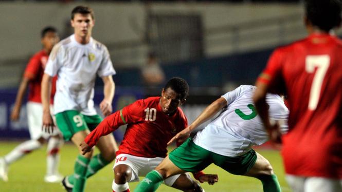 Indonesia vs Turkmenistan: Oktovianus Maniani