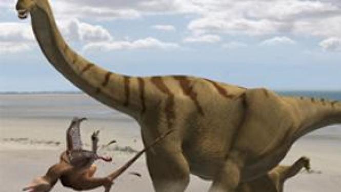 Brontomerus mcintoshi, dinosaurus dengan tulang kaki terbesar