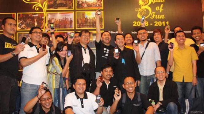 Indosat BlackBerry Community gelar gathering