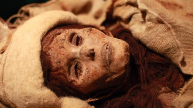 Mumi yang ditemukan di daratan Cina.
