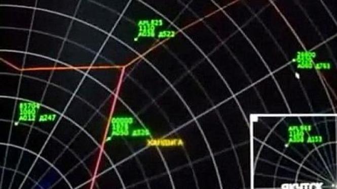 UFO tertangkap radar monitor udara di Rusia