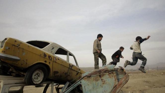 Keseharian di Afghanistan