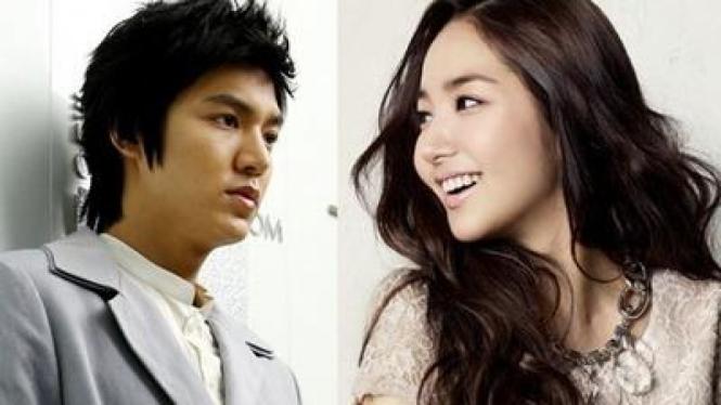 Lee Min Hoo & Park Min Young