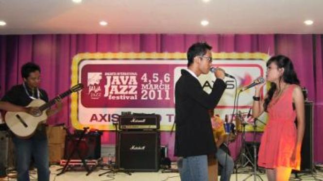 Salah satu band yang berkompetisi dalam Axis Java Jazz 2011.