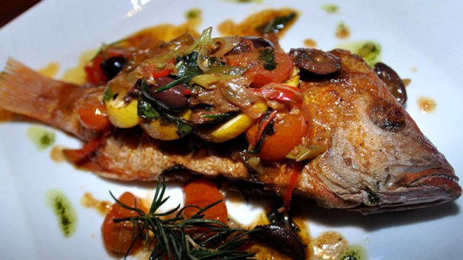 Red Snapper With Italian Herbs
